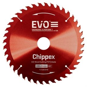 Chippex Red Wood Cutting (TCT) Blade