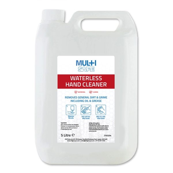 Multisafe Waterless Hand Cleaner (5 Litre)