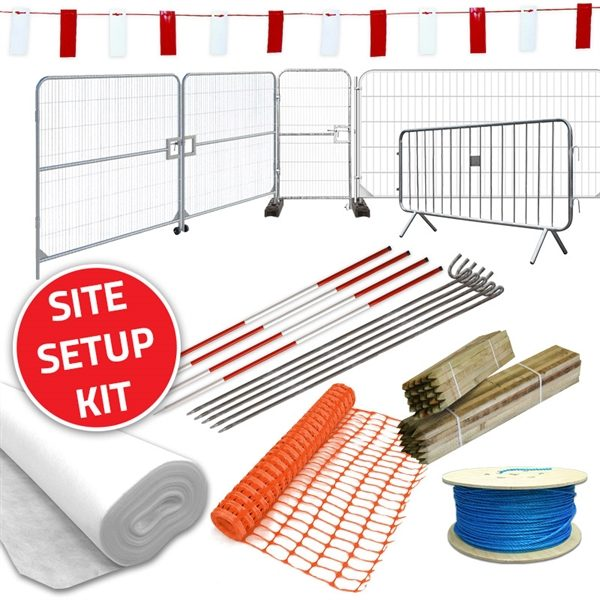 The CID Site Setup Kit contains everything you need to get your site up and running in no time.