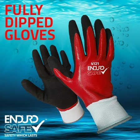 Endurosafe Fully Dipped Gloves