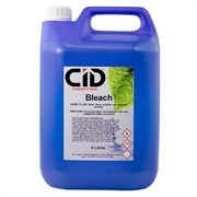 5 Litres of bleach for use to eliminate germs, including Salmonella, E-Coli and Listeria. Perfect for use at homes or in the workplace.