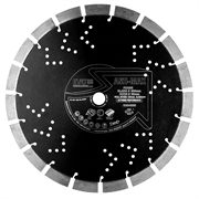 The Ash Max diamond blade is a specialist diamond blade for cutting asphalt and abrasives.