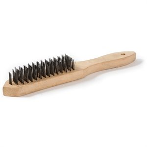 Heavy duty and hard wearing wire brush