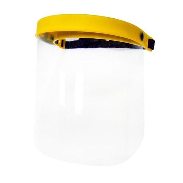 The Endurosafe Face shield is lightweight offering comfort for the user, whilst also providing protection against foreign particles, chemical splash, dust and offers impact resistance.