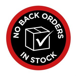 No Back Orders