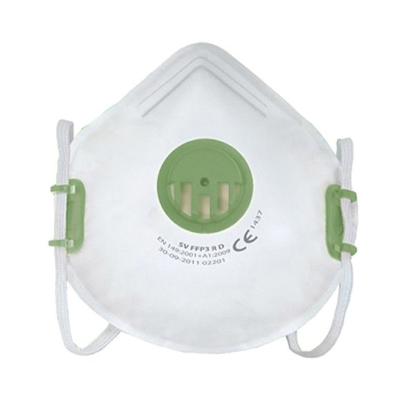 The DM400-G (X 310 SV FFP3 R D) FFP3 dust mask offers both comfort and protection for the user over long periods of time.