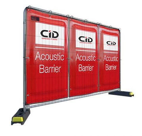Acoustic Fence Covers